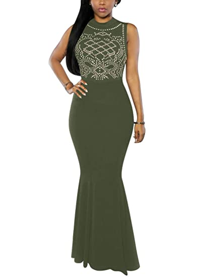 Women's Mermaid Semi Formal Dresses - Head