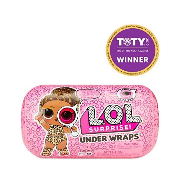 519fBpdr17L. SS600  - L.O.L. Surprise! Under Wraps Doll- Series Eye Spy 2A
