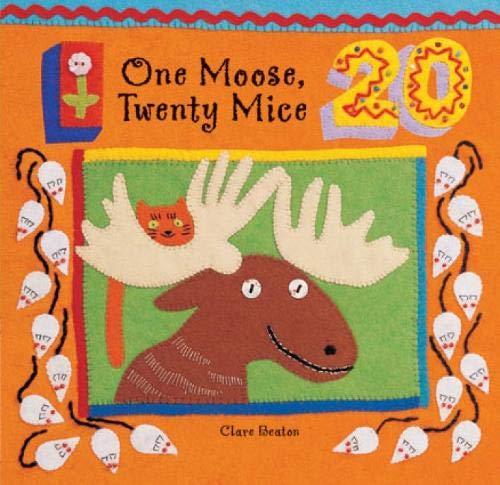 One Moose - One Moose, Twenty Mice (A Barefoot Board Book)