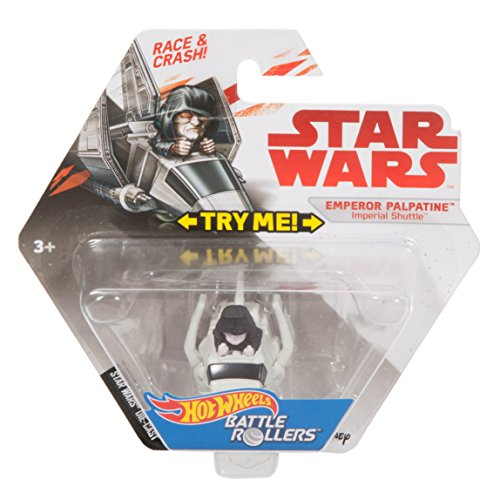 Hot Wheels Star Wars Emperor Palpatine Imperial Shuttle (Battles Starship Imperial)