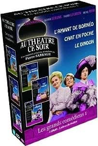 Les Grands comédiens n° 1 - 3 pièces de théâtre : L'amant de Bornéo + Chat en poche + Le Dindon [Francia] [DVD]