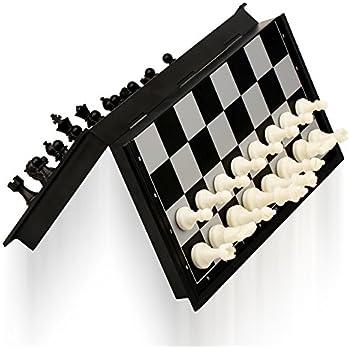 Amazon Com Yellow Mountain Imports Magnetic Travel Chess Set 9 7