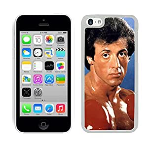 Rocky Balboa Film cas adapte iphone 5C couverture coque rigide de protection (8) case pour la apple i phone 5 C cover Skin Slyvester Stallone by runtopwell