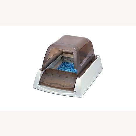 ZZQ Caja de Arena para Gatos autolimpiante Cubierta, automática ...