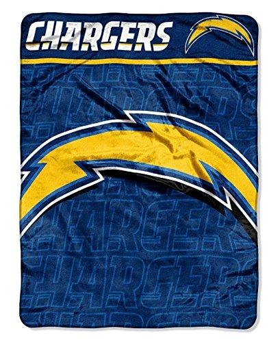 - NFL San Diego Chargers Micro Raschel Throw Blanket, 46 x 60-Inch