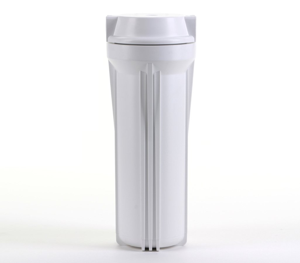 Hydronix HF3-10WHWH38 10 White Housing with White Rib Cap For RO /& Filtration Systems 3//8 Ports