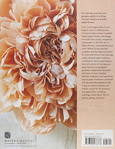 The Fine Art of Paper Flowers: A Guide to Making Beautiful and Lifelike Botanicals by Watson-Guptill (Image #2)