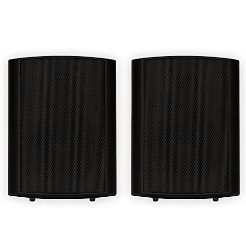 Theater Solutions TS425ODB Indoor or Outdoor Speakers Weathe