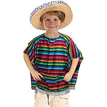 0e7526f27eeae Amazon.com  US Toy Child s Mexican Sombrero Costume  Toys   Games