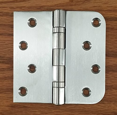 Steel Residential Hinge Square (Stainless Steel Ball Bearing Door Hinges - 4