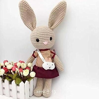 DP Fashion Sleepy Dog Handmade Amigurumi Stuffed Crochet Knit Doll ... | 400x400