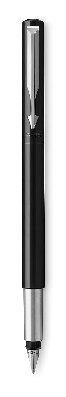 coffret cadeau pointe fine Parker 2025458 Vector stylo plume rouge avec attributs chrom/és encre bleue