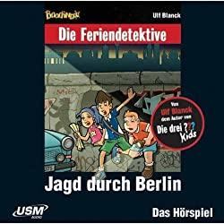 Jagd durch Berlin (Die Baadingoo Feriendetektive)