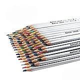 Niutop 72-Color Premier Soft Core Art Colored Drawing Pencils for Artist Sketch/Adult Secret Garden Coloring Book/ Kids Artist Writing/ Manga Artwork (72-Color)