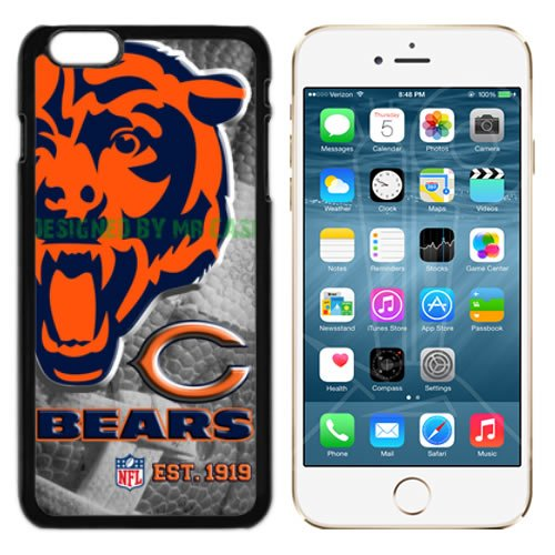 Bears Chicago Football New Black Apple iPhone 6S, 6 Case By Mr Case