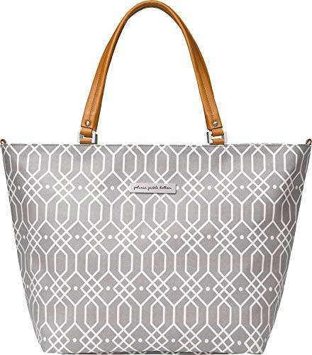 Petunia Pickle Bottom Altogether Tote Diaper Bag in Quartz Grey