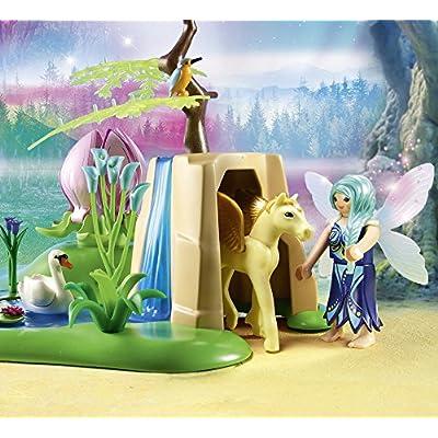 PLAYMOBIL Mystical Fairy Glen: Toys & Games