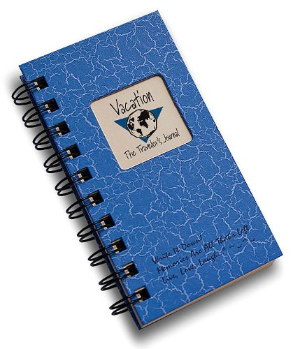 Vacation, The Travelers Journal - MINI Blue Hard Cover