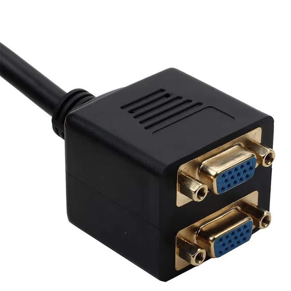 Computer Display Line Vga Distributor VGA one-Two Distributor VGA One-Two Connection Line