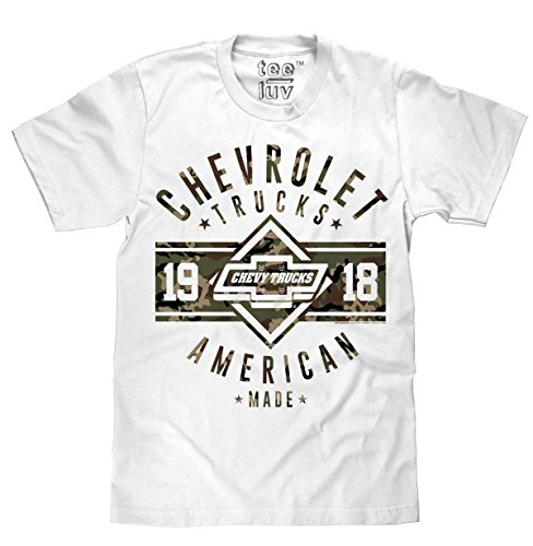 Chevrolet Trucks - Since 1918 | Soft Touch Tee-Small (1918 Auto)