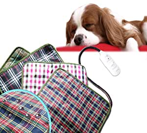 Generic Pet Electric Waterproof Heat Heated Heating Heater Pad Mat Blanket Bed Dog Cat 20W (110V)