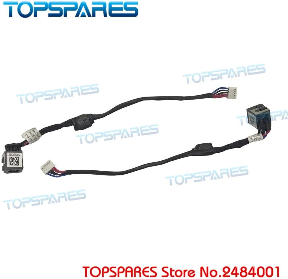 Cables Laptop etc DC Socket for Dell Latitude E6540 CN-0G6TVF G6TVF DC3010MZ00 DC Power Jack Connector in Cable - (Cable Length: 0G6TVF)