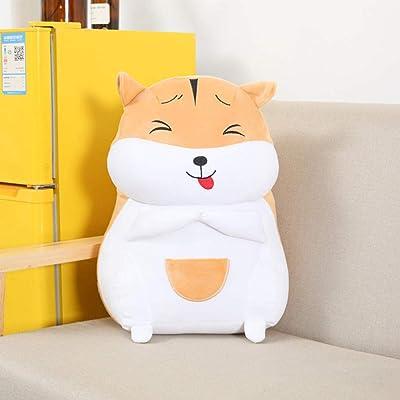 FUYUHAN Emoji Hamster Doll, Happy Cute Plush Hamster Toy Ultra Soft, Kids Companion Gift, 35Cm: Juguetes y juegos