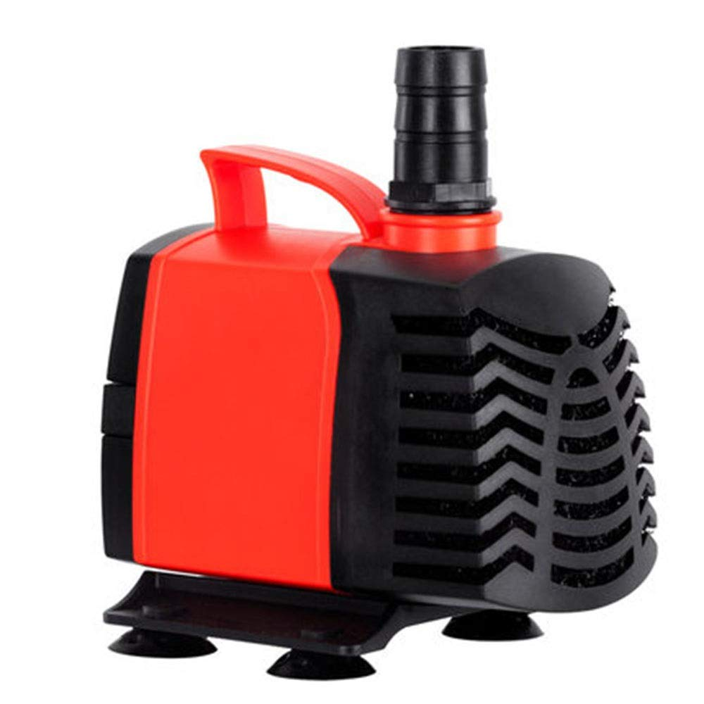 orange 12W orange 12W LIFUREN Fish Tank Oxygen Pump Submersible Pump Amphibious Pump Silent Loop Multi-functional Energy Saving Mute (color   orange, Size   12W)