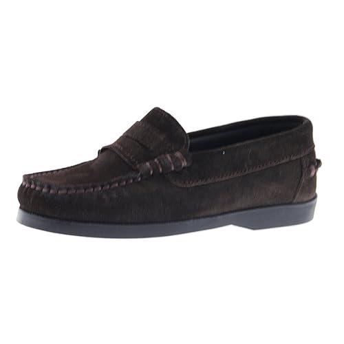 CLARYS Mocasines Niño Vestir N20315 Antifaz Marrón: Amazon.es: Zapatos y complementos