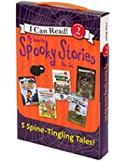 My Favorite Spooky Stories Box Set: 5 Silly, Not-Too-Scary Tales! (I Can Read Level 2)