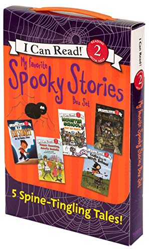 Halloween Books 2nd Grade (My Favorite Spooky Stories Box Set: 5 Silly, Not-Too-Scary Tales! (I Can Read Level)