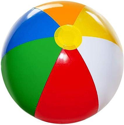 Amazon.com: 4E hinchable de novedad pelotas de playa 12 ...