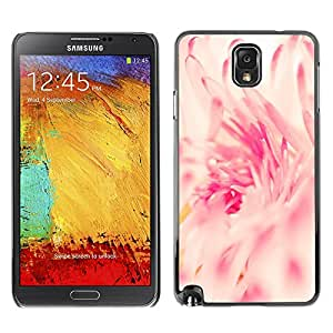 TopCaseStore / la caja del caucho duro de la cubierta de protección de la piel - Pink White Sun Vignette Spring - Samsung Galaxy Note 3 N9000 N9002 N9005