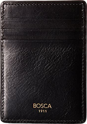 Bosca Men's Dolce Collection - Deluxe Front Pocket Wallet