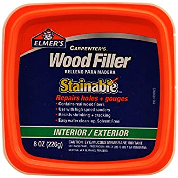 Elmer 39 S E890 Stainable Wood Filler 1 2 Pint Wood Fill