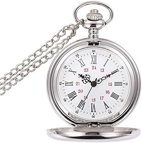 Image result for WIOR Classic Smooth Vintage Pocket Watch