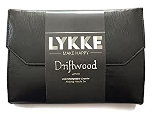 Lykke Driftwood Interchangeable Gift Set in Black Leather Pouch