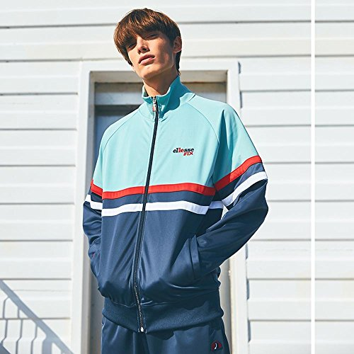 Ellesse X LE Fix Rimini 2 Track Top Jungle Midnight Navy – M