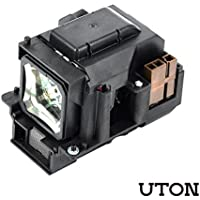 VT75LP Projector Bulbs Replacement for NEC LT280 LT380 VT470 VT670 VT676 Projectors (Uton)