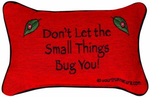 Manual The Lodge Collection Reversible Throw Pillow, 12.5 X 8.5-Inch, Advice from a Lady Bug X Your True Nature [並行輸入品] B07RDX5GKK