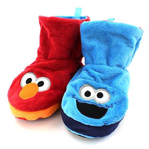 Sesame Street Monster Reversible Slippers