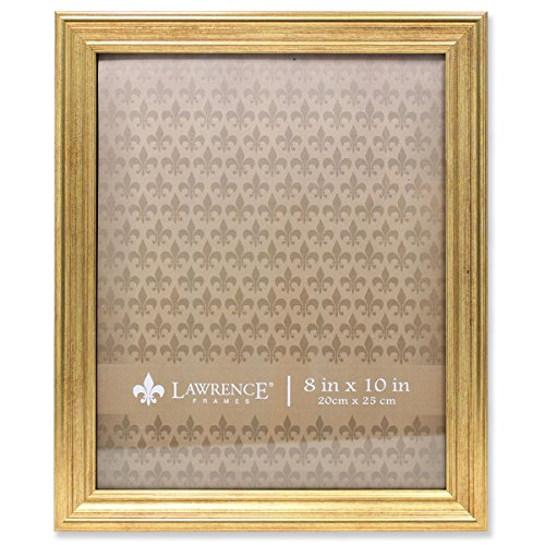 Lawrence Frames Sutter Burnished Picture Frame, 8 by 10-Inch