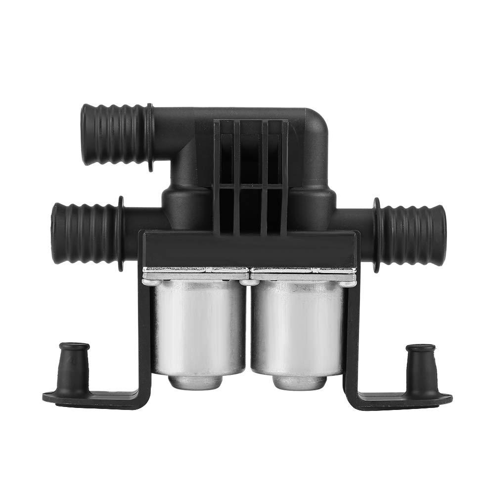 valvola di controllo del riscaldamento 6412837499 doppio solenoide per serie 5 E38 E39 E46 E53 X5 Aramox Valvola di controllo del riscaldamento
