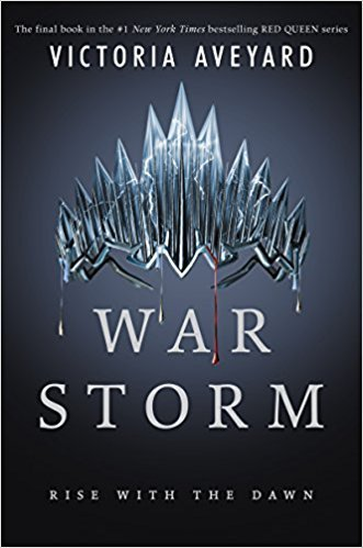 By Victoria Aveyard War Storm Red Queen Hardcover【2018】