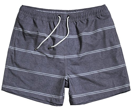 WUAMBO Athletic Men's Surf Runner Volley Swim Short Waist 31