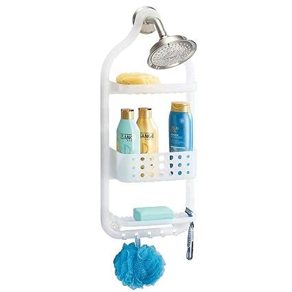 Amazon.com: InterDesign Circlz Hanging Shower Caddy – Bathroom ...