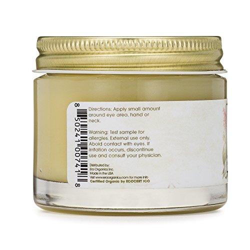 Rejuvenating Eye Cream (2oz.) Extra Nourishing & Moisturizing USDA Organic Anti Aging Eye Treatment Balm for Dark Circles, Under Eye Bags, Puffiness & Wrinkles with Jojoba Oil, Argan Oil & More by Era Organics (Image #6)