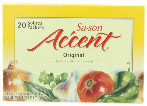 Sa-son Accent Seasoning, Original Flavor, 20 Packets (Pack of 18)