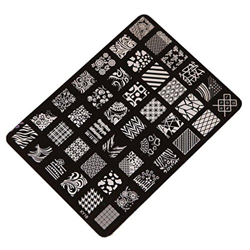 Stamping Printing Plate Manicure Nail Art Decor 14.5x10.5cm - 7