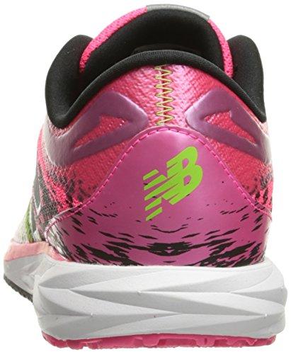 Nuova Scarpa Da Donna Wstro Running Balance Rosa Alfa / Nero / Lime Glow